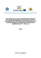 Guideline for a joint cross-border approach for handling emergency situations