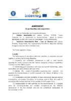 Agreement for partnership and cooperation